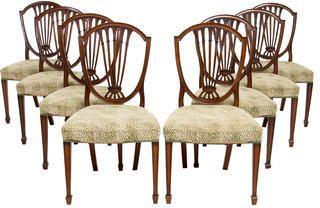 Antique Hepplewhite Dining Chairs
