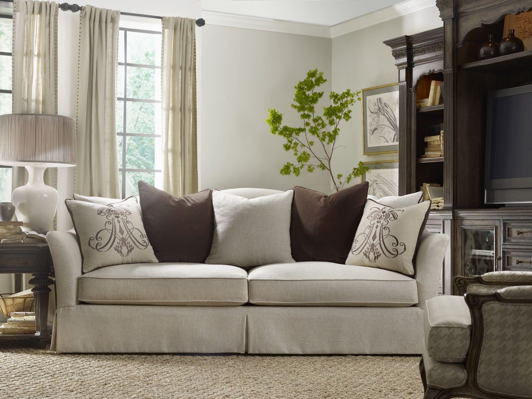 Luxury Modern Wood Living Room Furniture