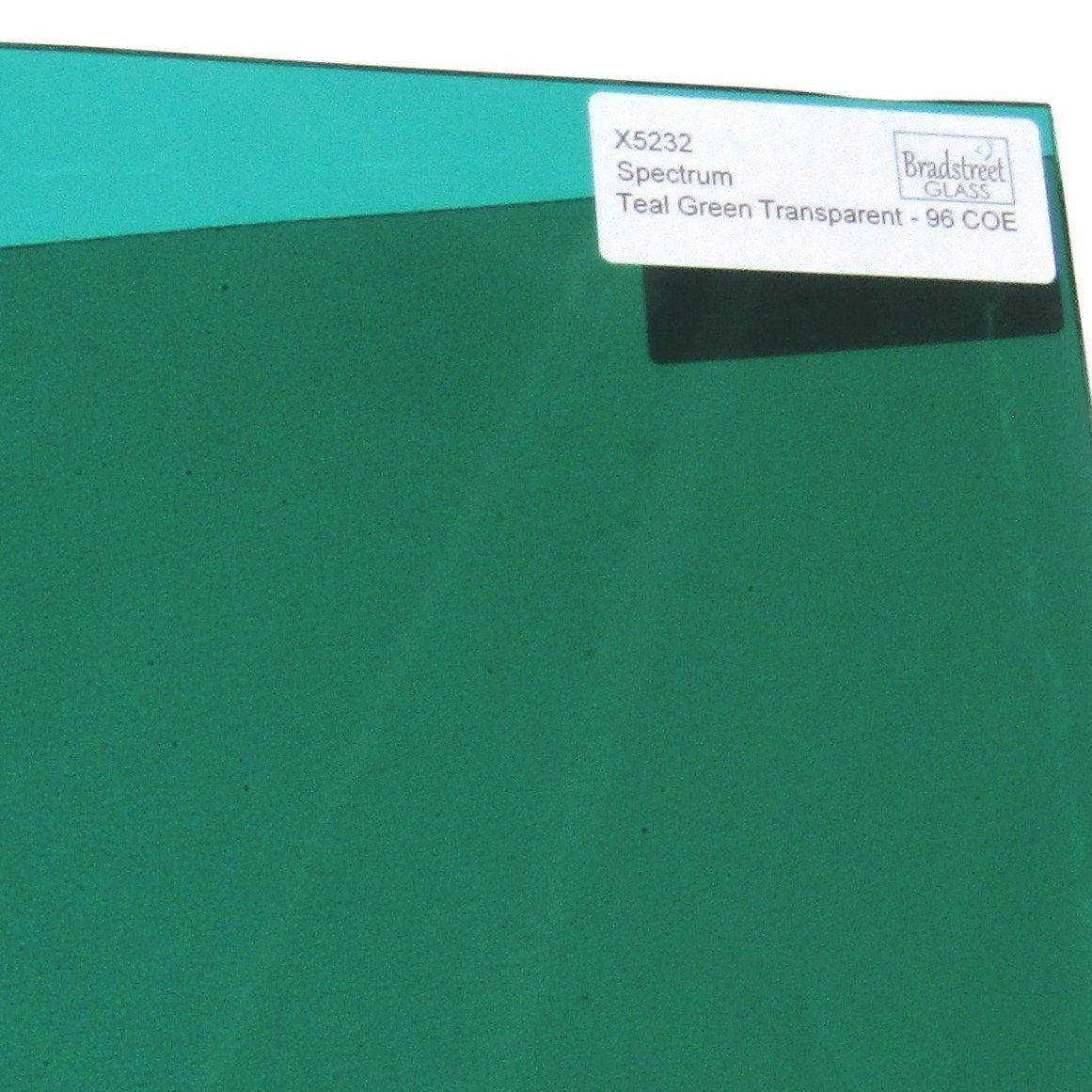 Spectrum System 96 Teal Green Transparent Fusible Stained Glass Sheet 96 Coe Translucent Sf5232 Get 10 Off Orders Ove Teal Green Stained Glass Spectrum Glass