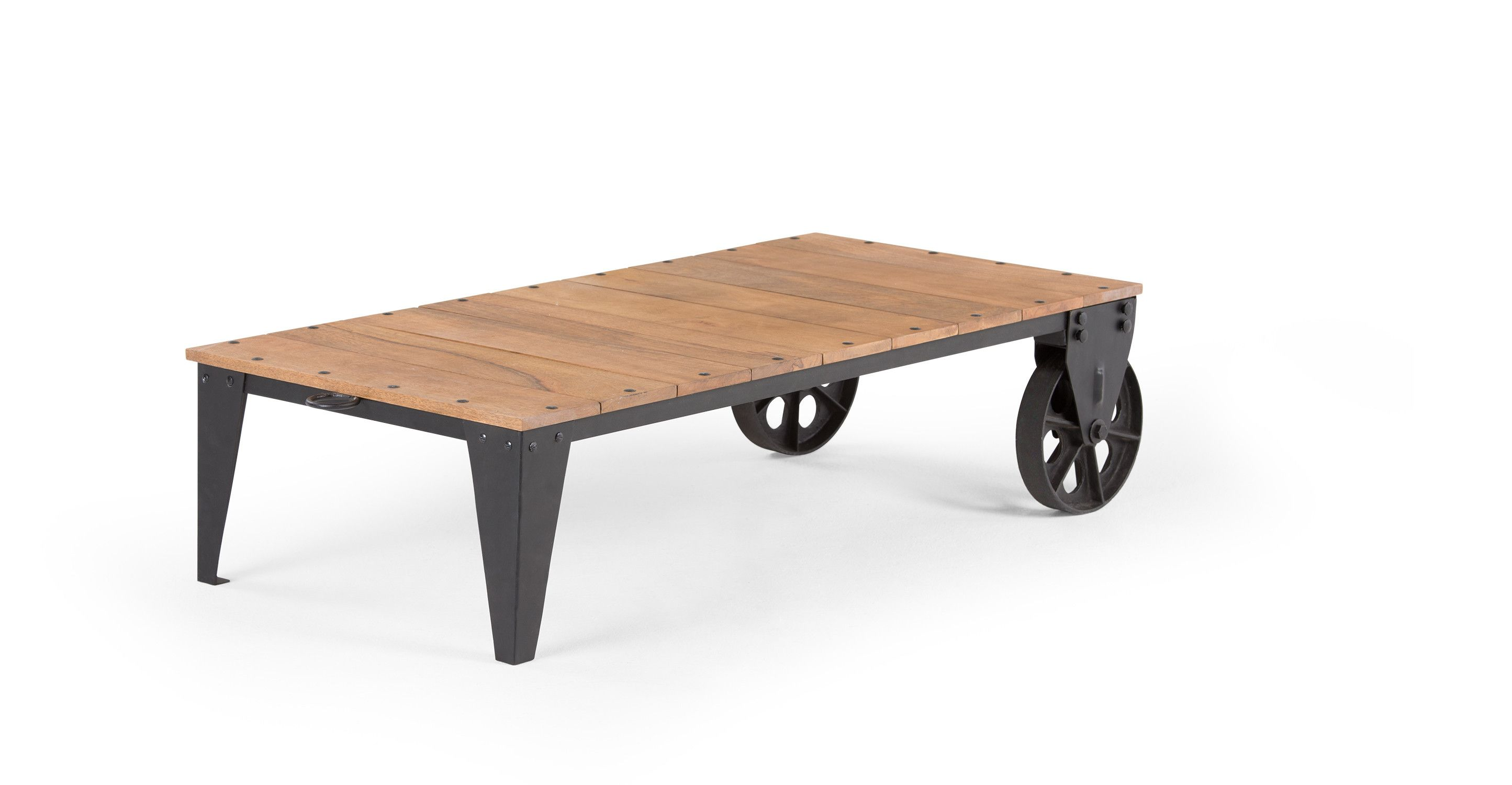 Unique De Table Basse En Bois Brut Concept