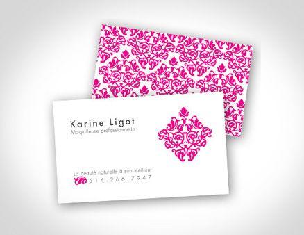 Karine Ligot Maquilleuse Professionnelle Cards Visiter