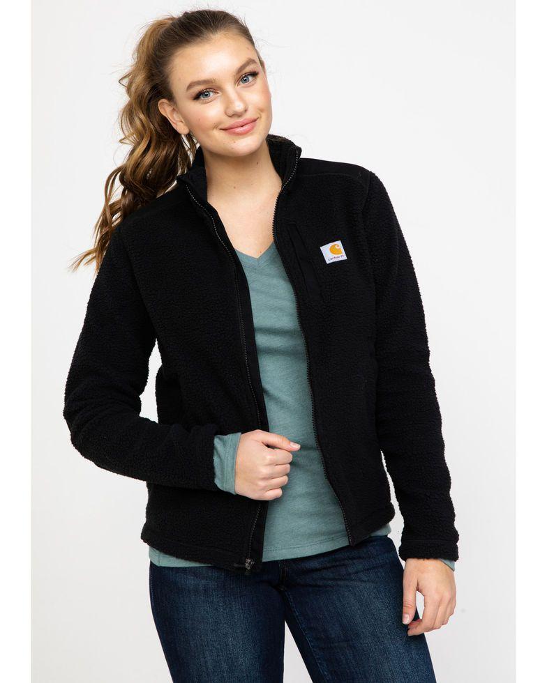 Carhartt Women's Yorklyn Mock Neck Full-Zip Jacket #carharttwomen