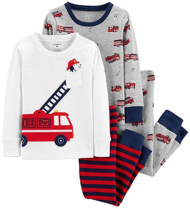 8e81a5589 Carter s 4-Pc. Pajama Set - Toddler Boy in 2019