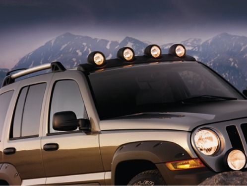 Oem Jeep Liberty Light Bar Kit Jeep Liberty Custom Jeep Jeep Life