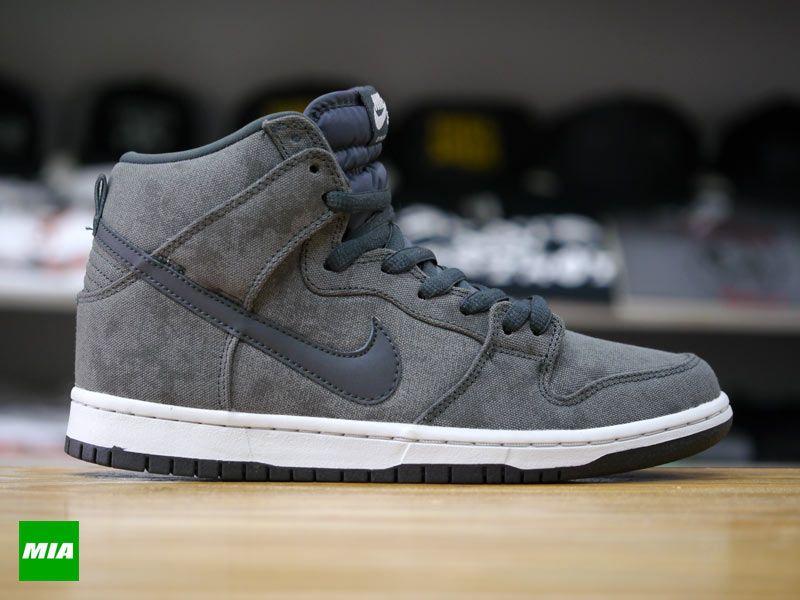 meet 2c442 40d40 Nike SB Dunk High – Neutral Grey   Anthracite
