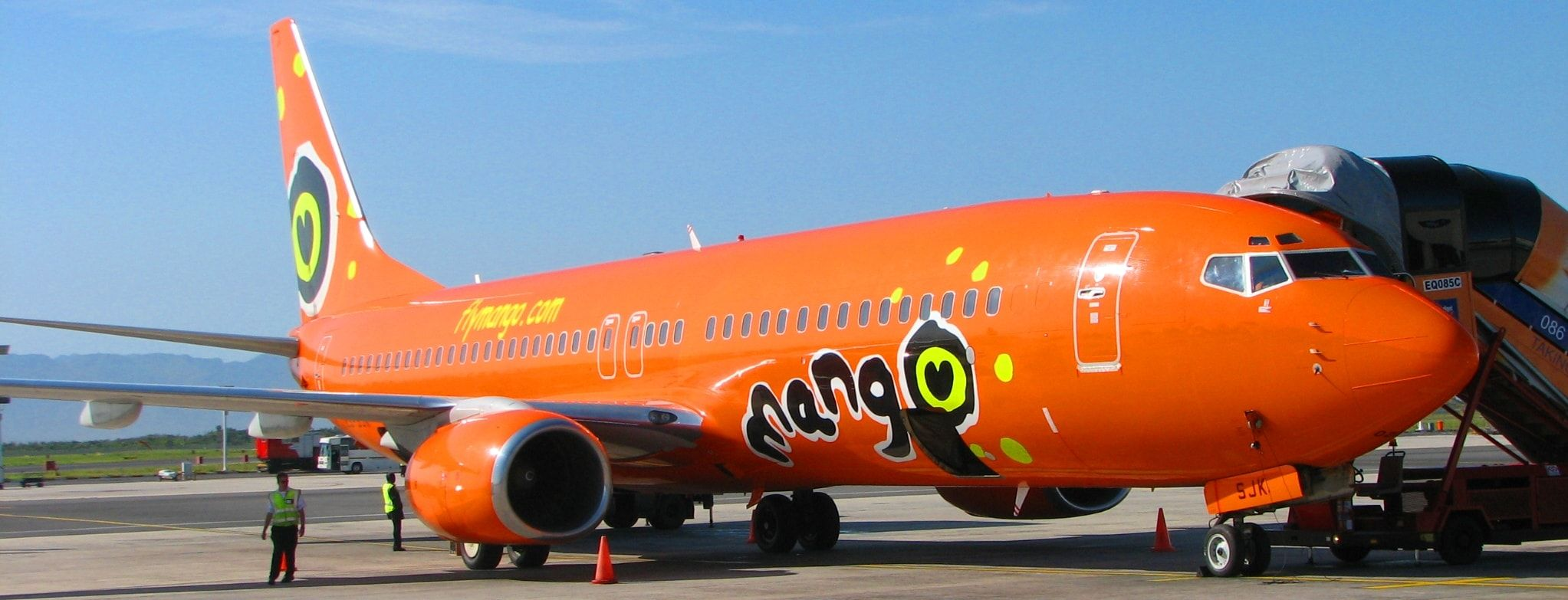 Mango Airline Book with Mango airlines