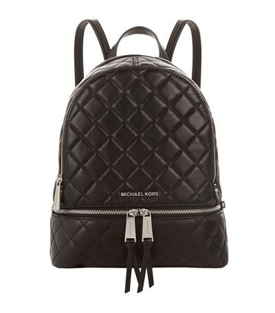 374480511fbd MICHAEL MICHAEL KORS Rhea Quilted Zip Backpack. #michaelmichaelkors #bags  #leather #backpacks #