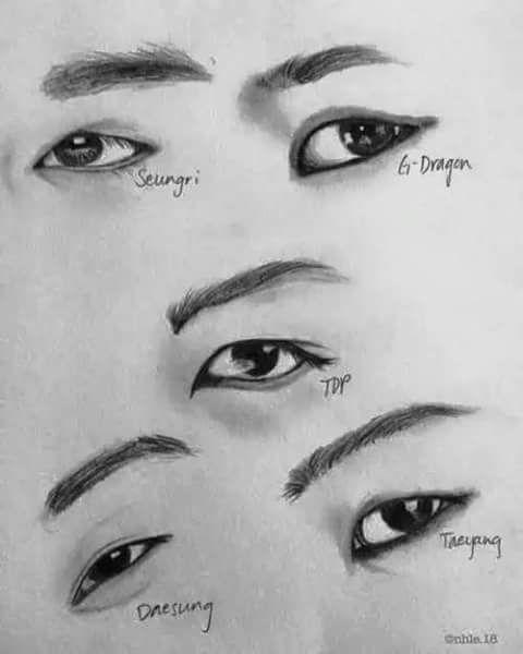 we heart it bigbang pencil drawings sculpture drawing reference artworks bangs fanart kpop
