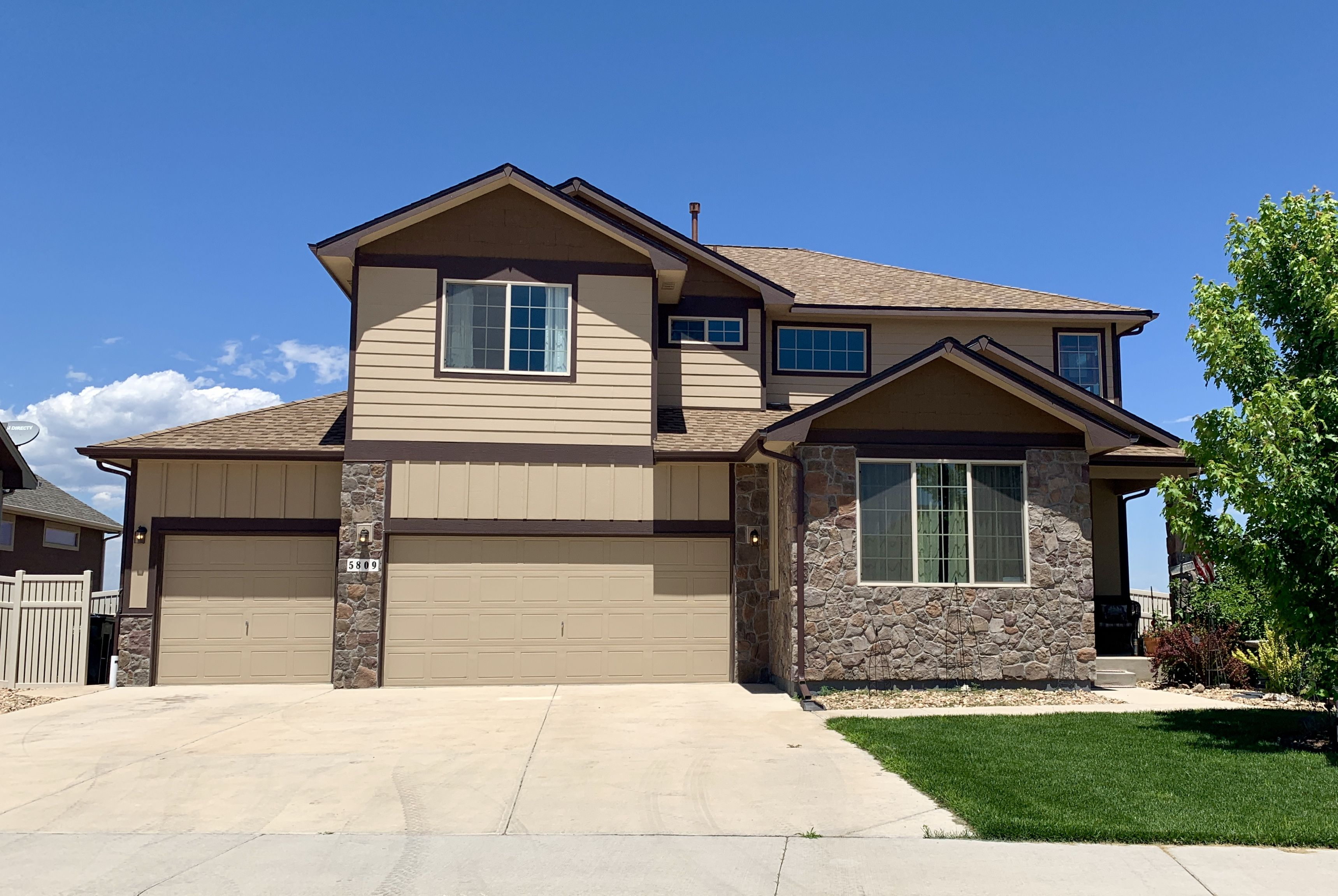 Best We Re Roofed This Home In Firestone That Was Hit With Hail 640 x 480
