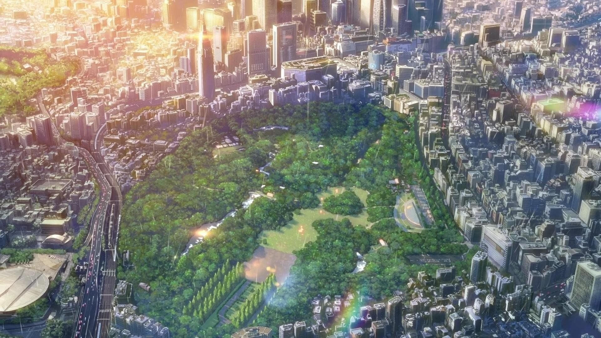 Related Image The Garden Of Words Anime Landschaft Anime Filme