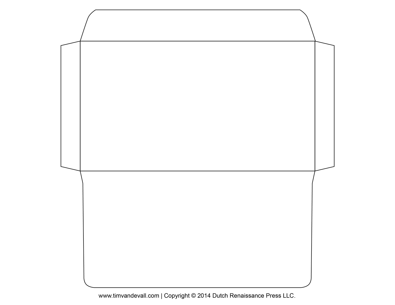 photograph about Envelope Template Printable referred to as printable envelope template OCC Shoebox Envelope