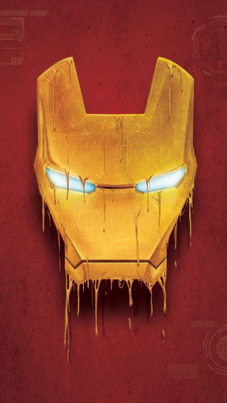 Iron Man Hd Phone Wallpaper Iron Man Mask Iron Man Wallpaper Marvel Wallpaper