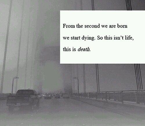 Hidden Suicidal Quotes: Death Depressed Depression Sad Suicidal Suicide Hurt