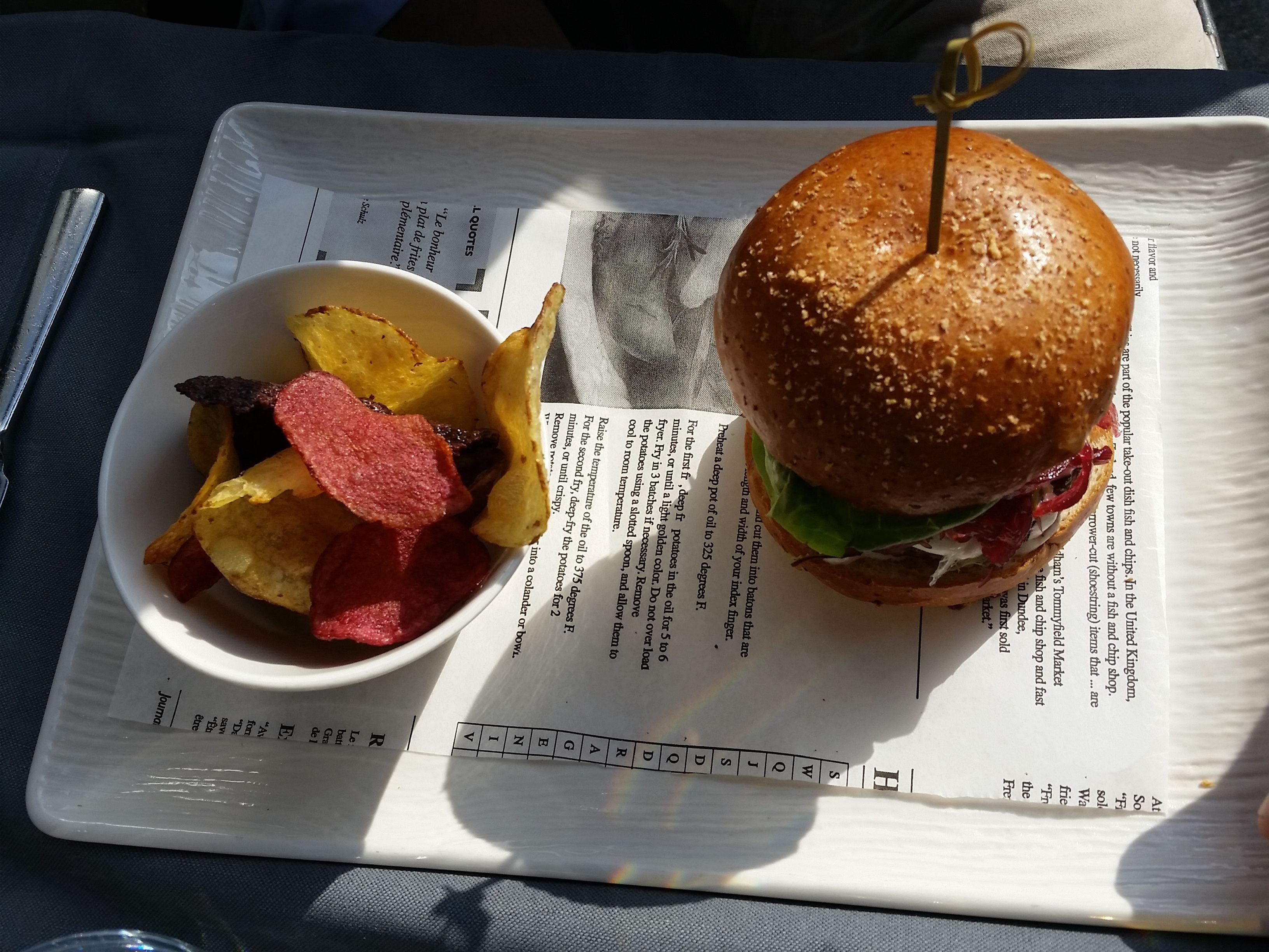 Pranzo al MAIO Restaurant RINASCENTE MILANO hamburger gourmet