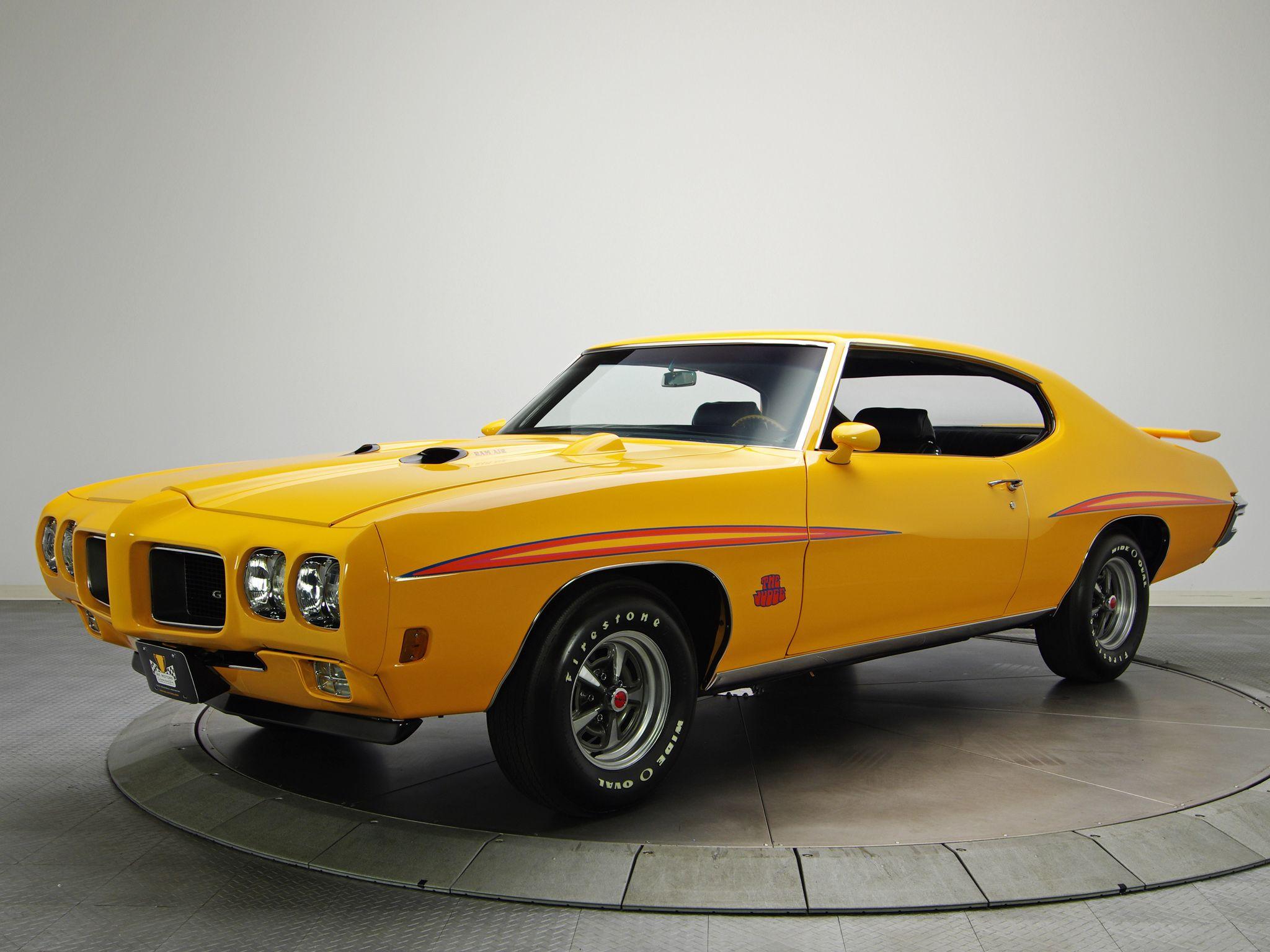 1970 pontiac gto judge hardtop coupe 4237 muscle classic h