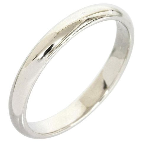 Cartier Pt950 Platinum Classic Wedding Band Ring Us Size 4 25