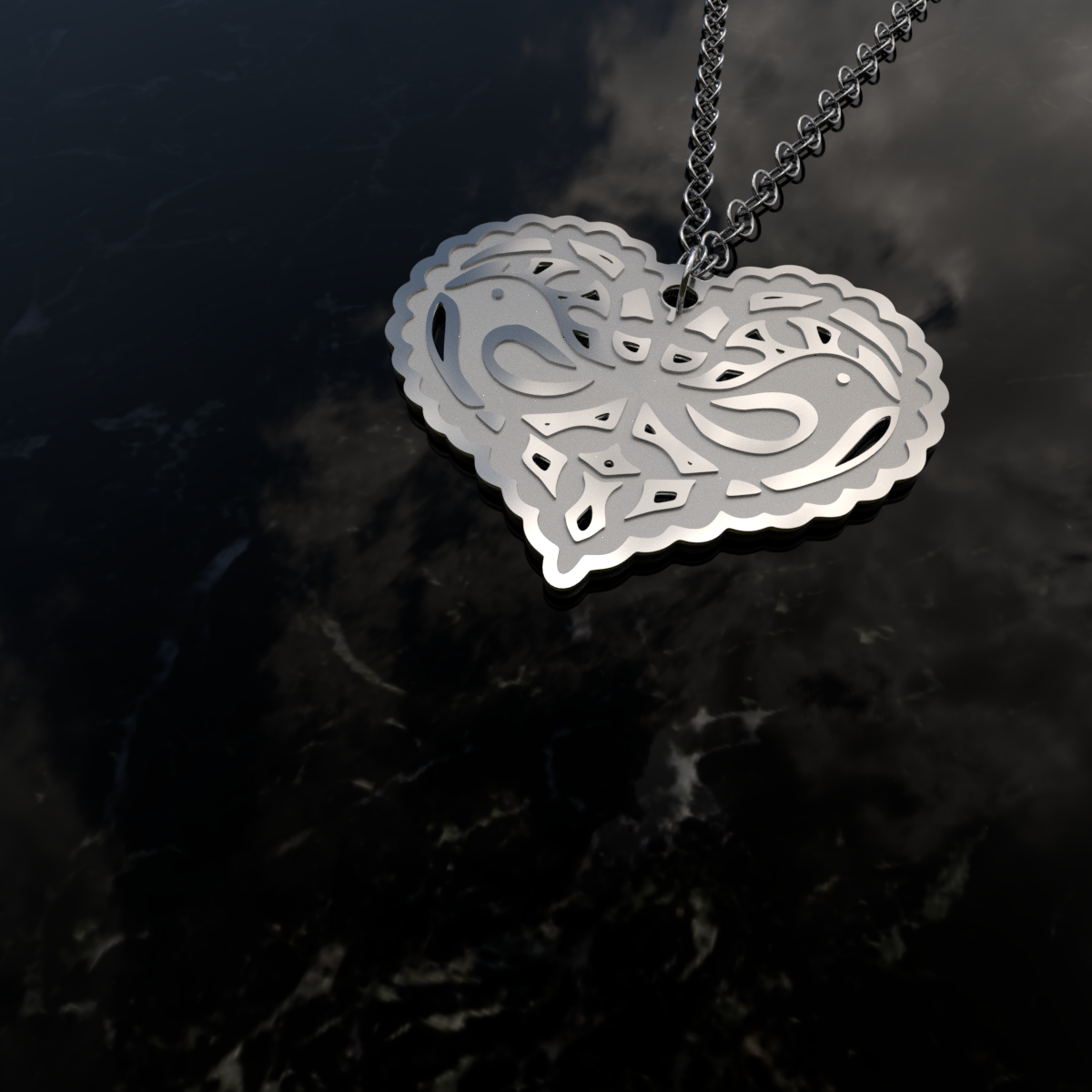 necklace dove turtle number jewellery l product category silver pendant heart necklaces sterling material webstore h samuel diamond