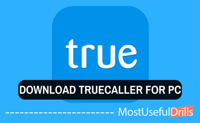truecaller windows 7