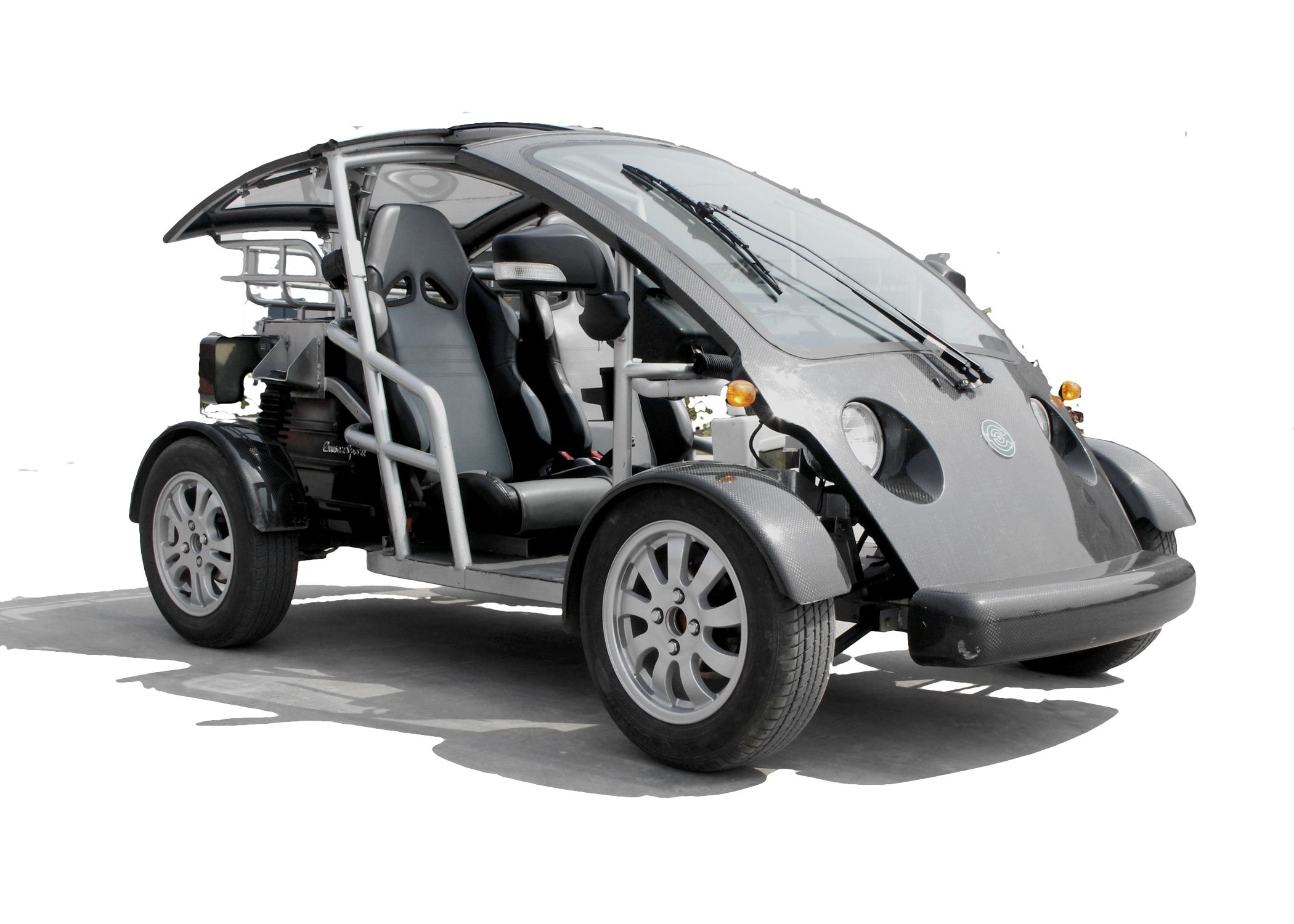 The exciting brand new street legal cruser sport elec car amp golf cart - Ecocruise Sport Nev At Florida Golf Cart And Tomorrow Electric Vehicles