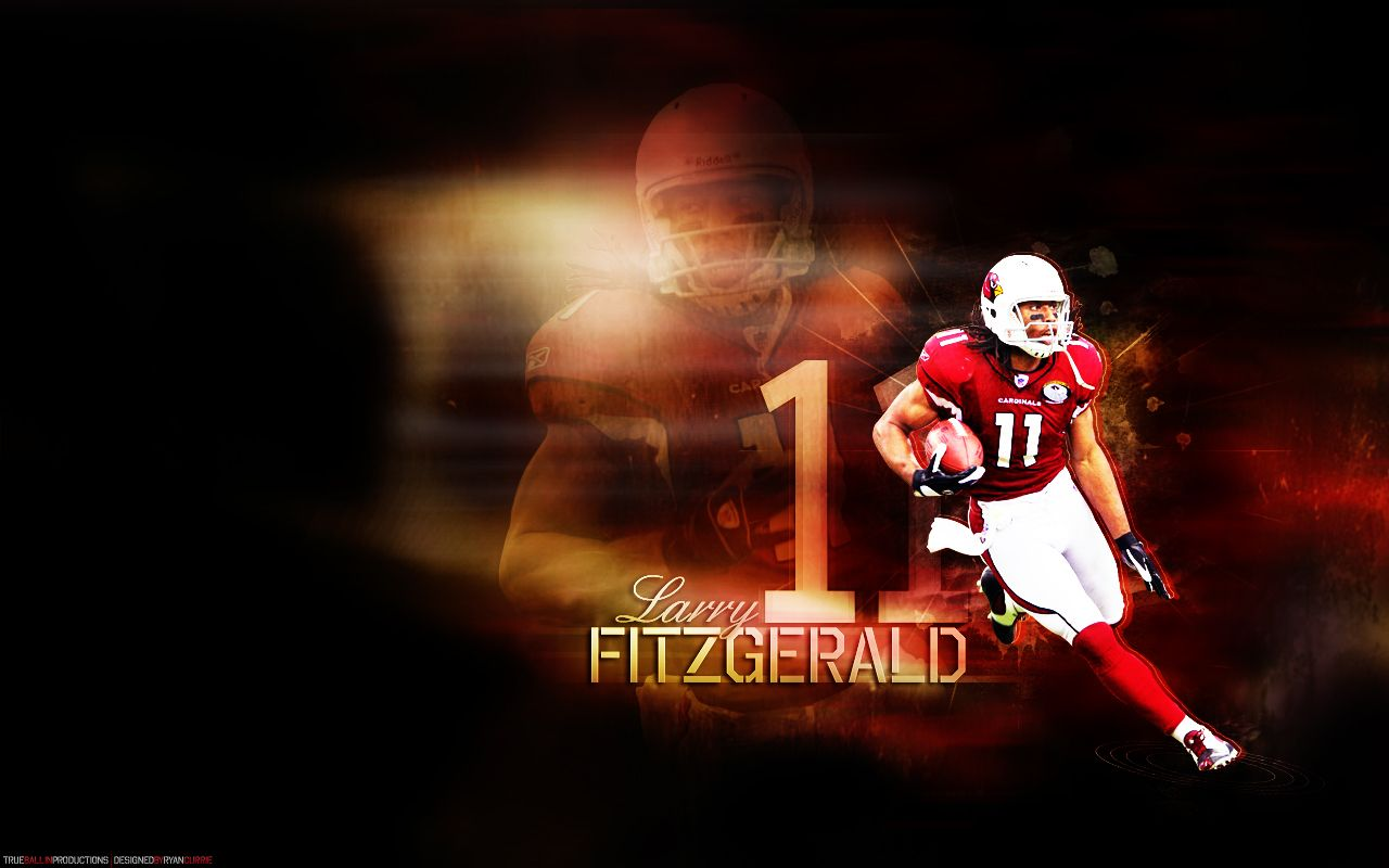 Nflart Larry Fitzgerald Chicago Cubs Wallpaper Chicago Cubs Retro