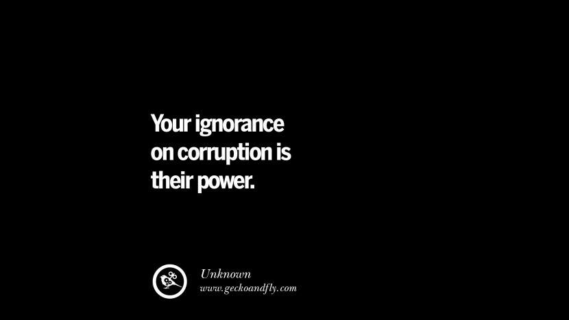 42 Anti Corruption Quotes For Politicians On Greed And