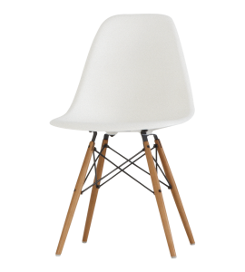 Coloured Dsw Eames Style Wood Base Chair 20 Colours