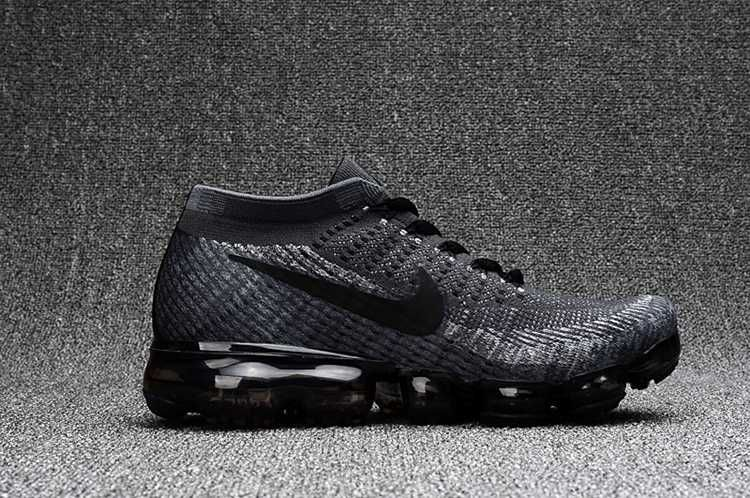 Nike Air Max 2018 Flyknit Sports Running Shoes Men Black Gray