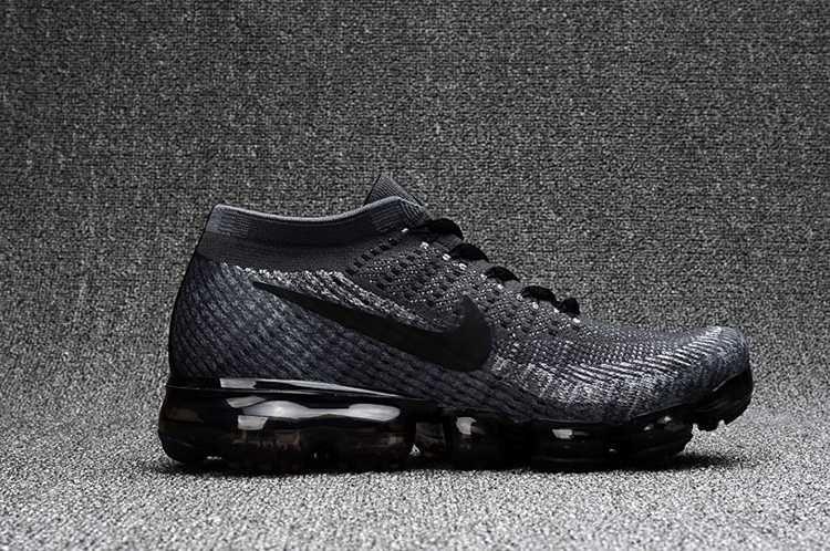 Nike Air Max 2018 Flyknit Sports Running Shoes Men Black