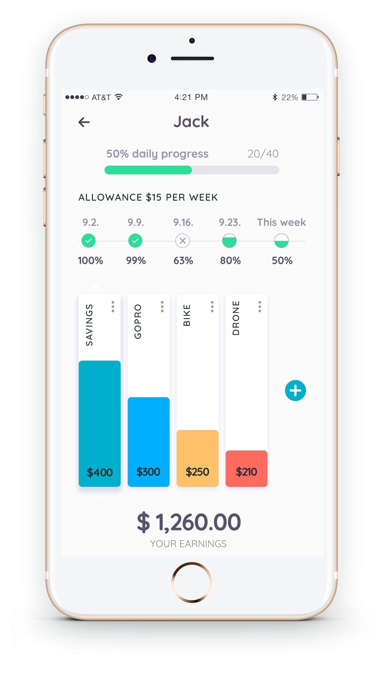 Homey app for Chores, Rewards and Allowance Chores for