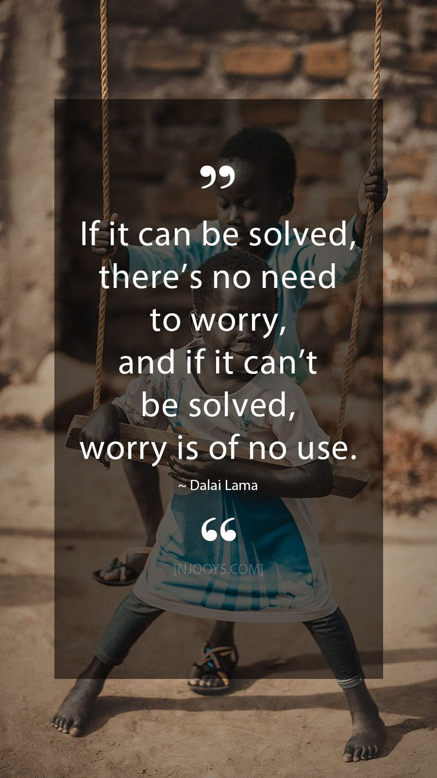 Dalai Lama Quotes If it can be solved there s no need to