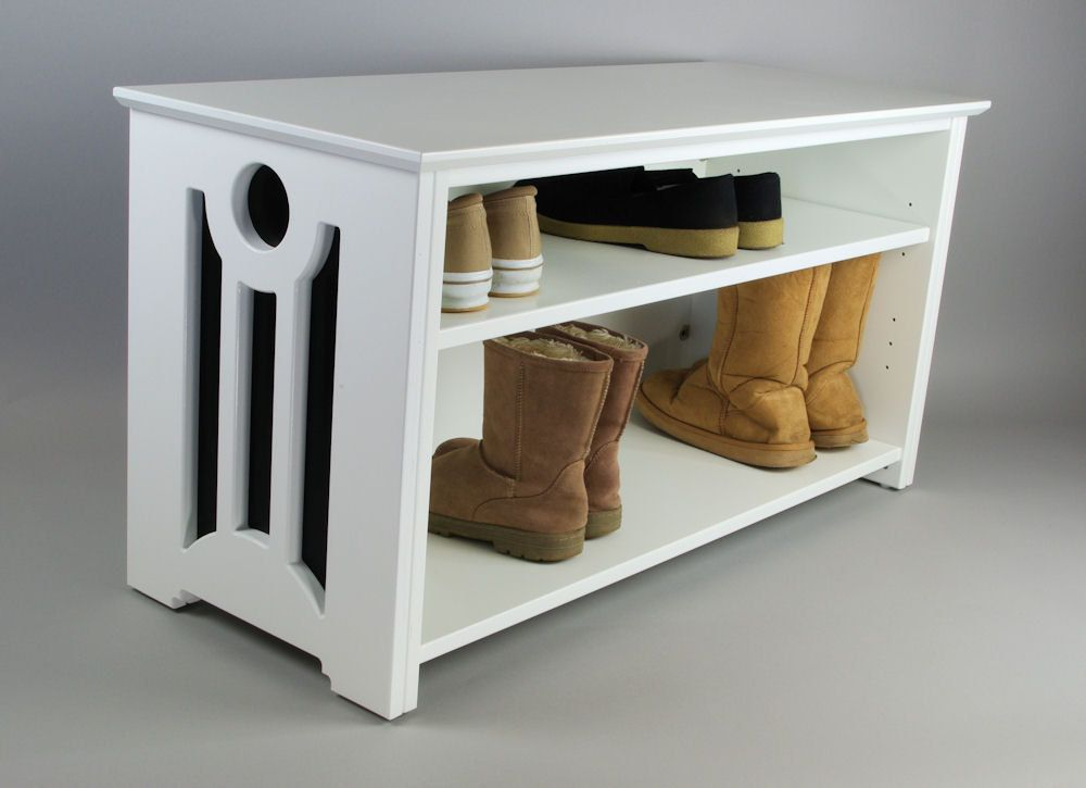 Tall shelf for boots & short shelf for shoes (With images ...