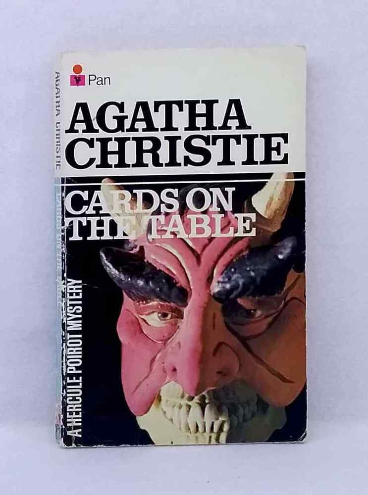 Cards On The Table By Agatha Christie Hercule Poirot Mystery