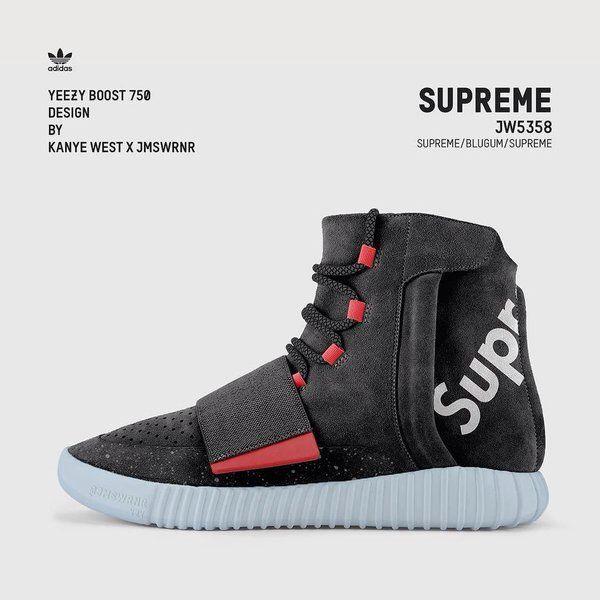 adidas yeezy x supreme