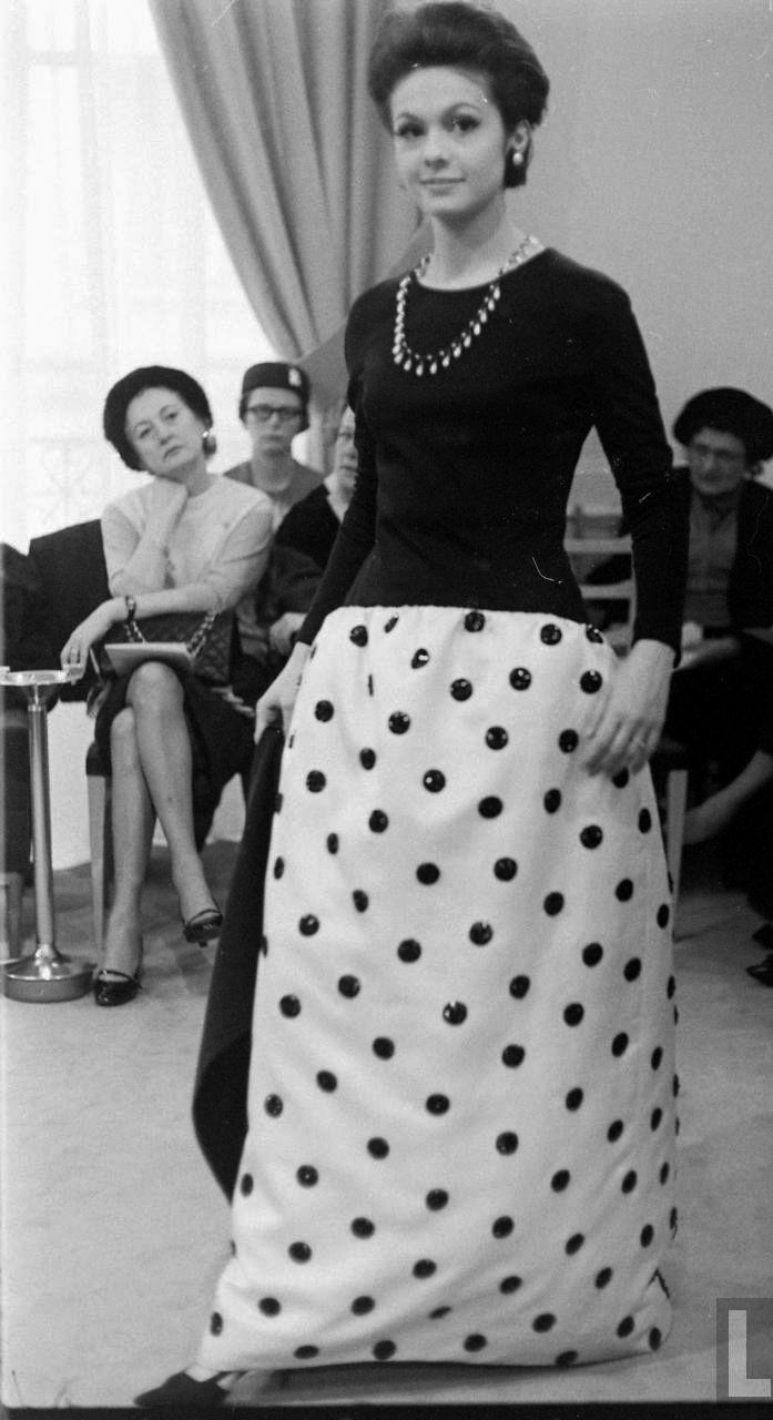 yves saint laurent couture show the first vintage