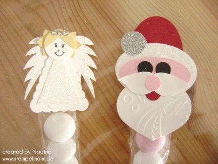 Punch Art Nikolaus Engel Angel Goodie Swap Give Away Stampin Up 002