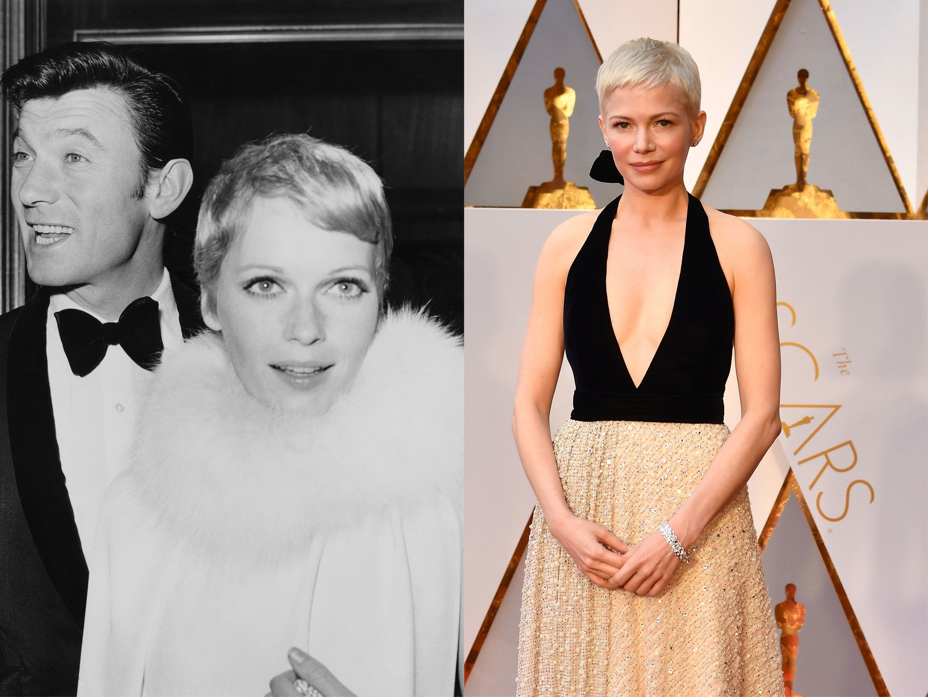 Michelle Williams s New Pixie Cut Takes a Cue From This Original