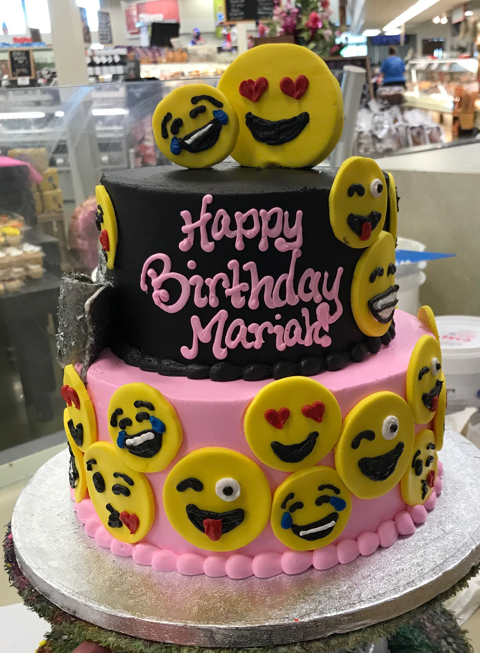 Pin by Cat Woodson on Emoji Cakes Pinterest