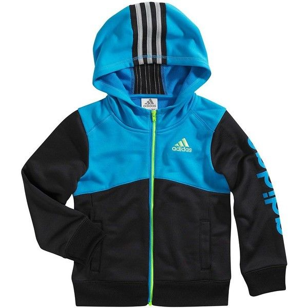 46831e265 adidas Clima Performance Hooded Jacket - Boys 4-7x ( 35) ❤ liked on ...