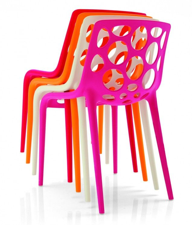 Sedia Calligaris Hero.Perfect For Bars Stackable Up To 4 Chairs High And Suitable
