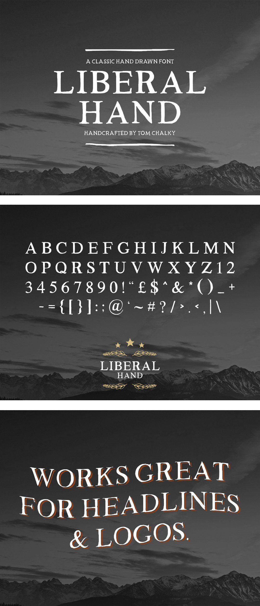 Best Free Hand Drawn Fonts Best free fonts, Free font