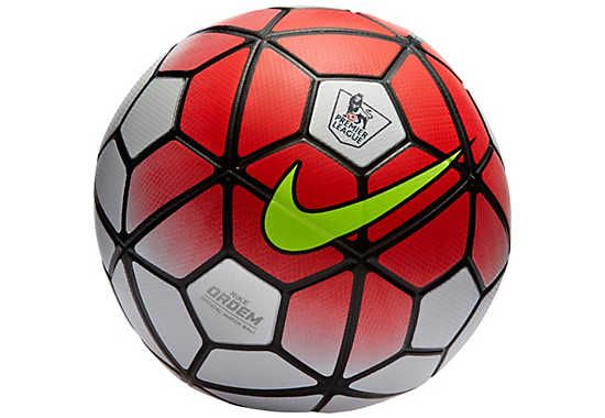 Nike Ordem 3 Official EPL Match Soccer Ball - White and Red  b005dfb70c962