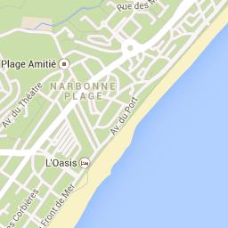 narbonne plage Google Maps Frankreich Pinterest Maps