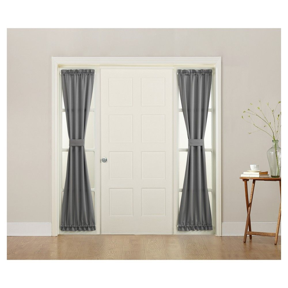Awesome Entry Door Sidelight Curtains