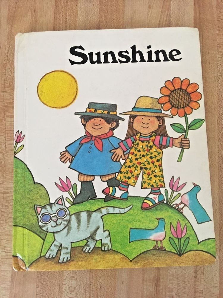 Sunshine Vintage Houghton Mifflin Reading Textbook Level E