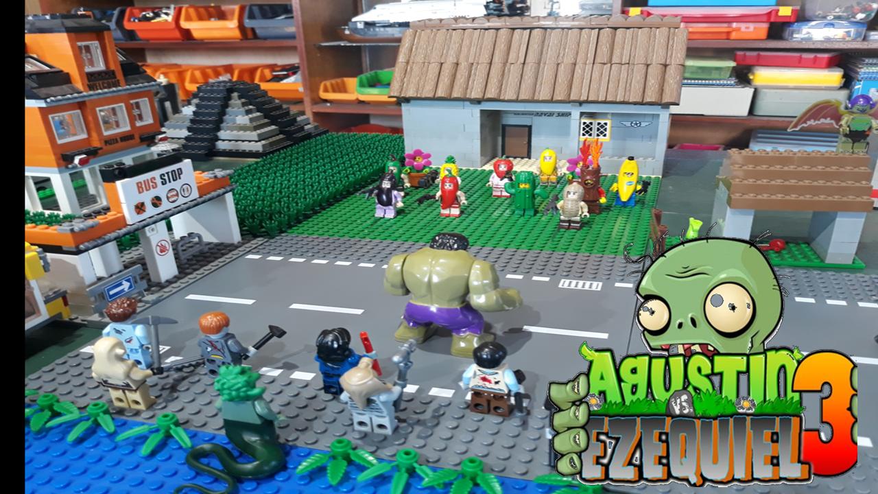 Lego Plants Vs Zombies In 2020 Plants Vs Zombies Plants Lego