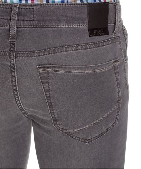 Herrenjeans Five-Pocket, grey - Jump´n Blue: Five-Pocket Jogger Denim mit Feel Good-Comfort - brax.de