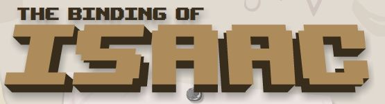 The Binding Of Isaac Logo Font Game Logo Design Logo Fonts