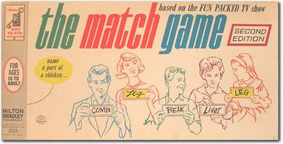 The Match Game Home Game Home Page