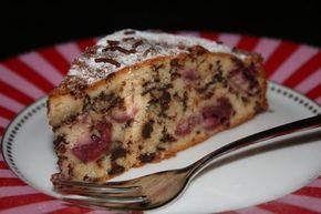 Simpler Schoko-Kirsch-Kuchen - Dreimal Ahhh
