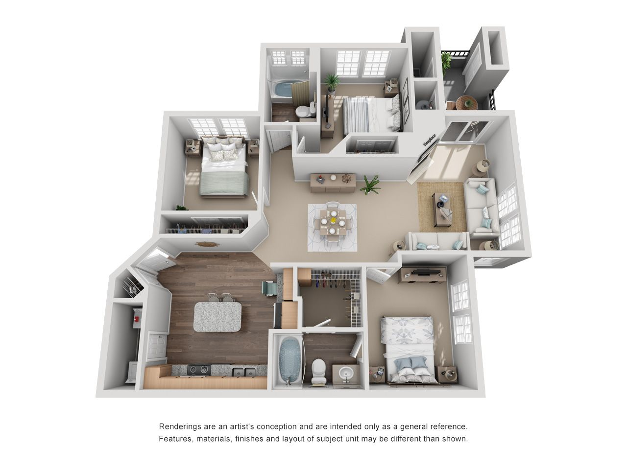One Two And Three Bedroom Apartments In Aurora Co Apartment